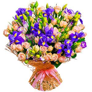 Дизайнерский букет +30% цветов с доставкой в Тихвине