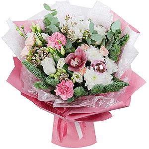 Весенний +30% цветов с доставкой в Тихвине